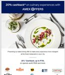Bangalore Dining Festival - Amex Offers brings you 20% cashback on meals from your favorite kitchens