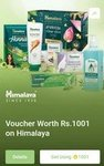 Himalaya Voucher Worth Rs.1001 & Rs.501 using SuperCoins