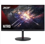"Acer Nitro XV272U 27"" IPS Monitor - 1 MS - 144 Hz - 400 Nits - 2560 x 1440 Resolution - USB 3.0 HUB - Height Adjustment Pivot - Stereo Speakers - 2 X HDMI - Display Port with Cables"