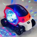 LooknlveSports Musical Car Rotate 360° With Flashing Light & Music With Multicolor Lighting (Multicolor)  (Multicolor)