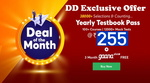 Last Day - Testbook Deal of the Month Sale - Free 3 Month Gaana Plus Subscription + Yearly Pass At Just Rs.255