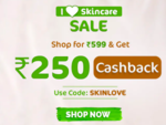 Mamaearth : Shop For Rs.599 and get Rs 250 cashback