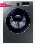Samsung 9kg Inverter 5 Star Full Automatic Front Load Washing Machine 1400 RPM (WW91K54E0UX/TL,Inox)