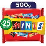 Mars Minis Assorted Chocolates, 500 g