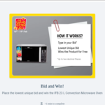 Flipkart Bid and Win! Place the lowest unique bid and win