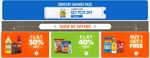 Supermart - Desi Ghee, Oil, Atta & More @ Rs.1  + Buy 1 Get 1 Free + Grocery Pass Up to 90% Off & More Offers