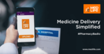 Flat 100 Off + 15 % discount on medicine Orders - may be user specific