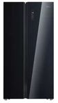 Midea 661 L Frost Free Side by Side Refrigerator  (Glass Door Finish, MDRS853FGG22IND)
