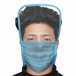 Face Mask with Eye Shield Anti Spittle Splash Personal Protection for Medical & Outdoor (10 PCS) @71.
