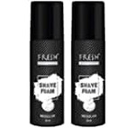74% Off - (Pantry) Fresh Essential Shave Foam - Sensitive, 50 ml Rs.25