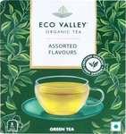 Eco Valley Organic Assorted Green Tea Bags Box(5 Bags)(Supermart)