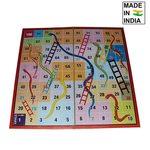 Parteet Magnetic Ludo, Snake & Ladder Board Game - Multi Color