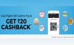 Paytm Tops Pickle QR Code Offer – Scan & Get Rs.20 Cashback