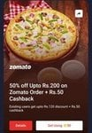[50 Supercoin] 50% off Upto Rs.200 on Zomato Order + Rs.50 Cashback