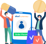Flat 25% Discount +Flat 50 Cashback On medicine order Using Dhani E- pharmacy today scratch & win card