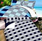 Double Bedsheets with Pillow Covers (pack of 2) + extra 15rs discount on prepaid order