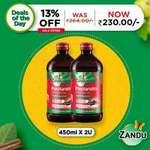 Zandu Pancharistha 450ml (Pack of 2) @ Rs218