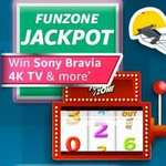 Amazon JACKPOT Win Sony Bravia 4K TV & more
