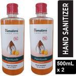 HIMALAYA PureHand Orange Germ Kill Hand Sanitizer Bottle  (2 x 500 ml)