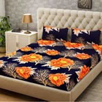 Double Bedsheet With 2 Pillow Cover at 199.