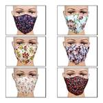 Pack of 6 Fashion Face Mask @119