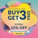 Max Fashion Buy 3 Get 3 Free + Extra 10% Off App Exclusive Offer