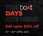 boAt Ultimate Swag Fest Sale   16th - 20th April