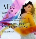 Zivame Alice In Wonderland Sale Products Upto 60% Off All Under 999 + Free Shipping