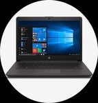 For prepaid Axis cc users HP 245 G7 Notebook 2D5Y6PA Ryzen 5|3500U|4GB|1TBHDD|14 inch|DOS|INT Graphics|Dark Ash Silver