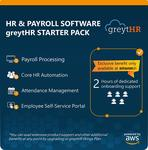 Amazon Digital Suite – greytHR: Payroll & HR Software Starter Pack, Lifetime Plan (Up to 25 Employees, with Exclusive Benefits) 80%off