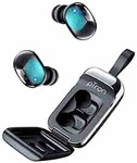 pTron Bassbuds Urban in-Ear True Wireless Bluetooth 5.0 Headphones with Deep Bass, Touch Control Earbuds, IPX4 Water & Sweat Resistance, Noise Isolation, Voice Assistance & Built-in Mic - (Black)