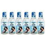 AYURVEDIC JASMINE NON STICK MEDICATED COCONUT OIL 100ML, Pack of 6 by Shalimar's