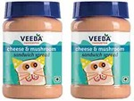 Veeba Cheese and Mushroom Sandwich Spread, 280g (Pack of 2)