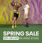 Reebok Spring Sale 20% To 50% Off On Selected styles On Footwear and accessories