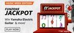 Amazon MUSIC WEEK EDITION JACKPOT | Win Yamaha Electric Guitar & more