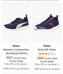 PUMA shoes start @Rs. 837