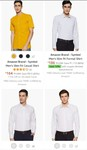 Formal shirts start @ ₹ 184 + apply coupon (many products)