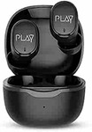 World Of PLAY PLAYGO T20 Ultralight Wireless Earbuds with EBEL Drivers; HD Call Quality; Sensory Controls & BT 5.0 (Black & Copper)