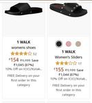 Upto 80%off On WALK Women's footwear