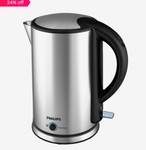 Philips HD9316/06 1.7 L Electric Kettle (Silver)