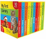 My First Library Pack 2: Boxset of 10 Board Books for Kids Board book – 1 January 2019