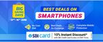 Flipkart Big Saving Days Mobile Deals -  Up to 40% Off + 10% Instant discount on SBI Bank Cards & EMI Transactions | 12-16 June