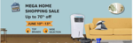 Amazon Mega Home Shopping Sale - 10 % Instant Discount Up To 1750 With HDFC Cards [ Last Day ]