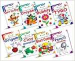 Activity Books Collection for Early Learning by InIkao : Set of 8 Activity Books for Kindergarten kids Paperback – 1 January 2020