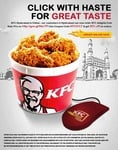 KFC Delivery -  GET 30% OFF only HYD
