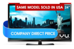 VU LED TV all sizes(24/32/40/50/55/65/84) at cheapest price