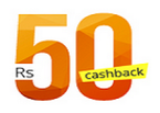 PayTM - Cashback of Rs. 50 on Recharge of Rs. 10 or more!