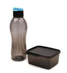 Tupperware Set of 2 Pcs Extreme Set Bottle 750 ml & Box 500 ml @275 Use ICICI01 code and get it for 247 +additional mobikwik cashback