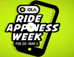 Ola Happiness Week - Offers