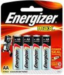 Energizer AA battery at 0 loot